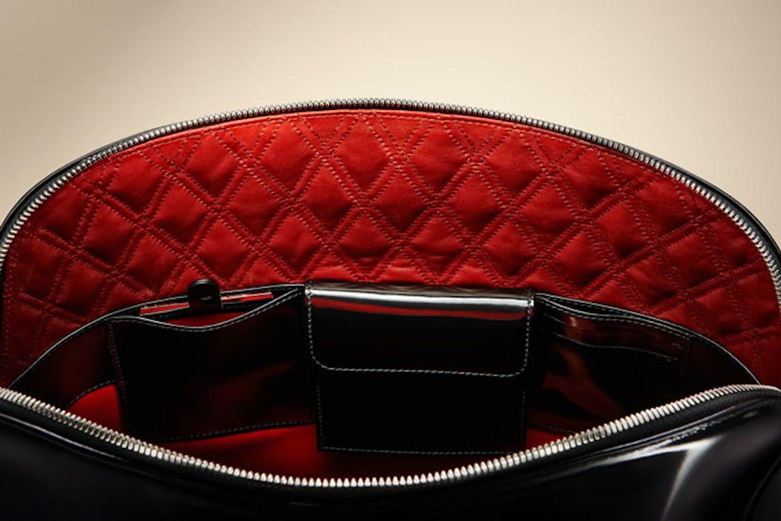 Bentley sac noir_interior