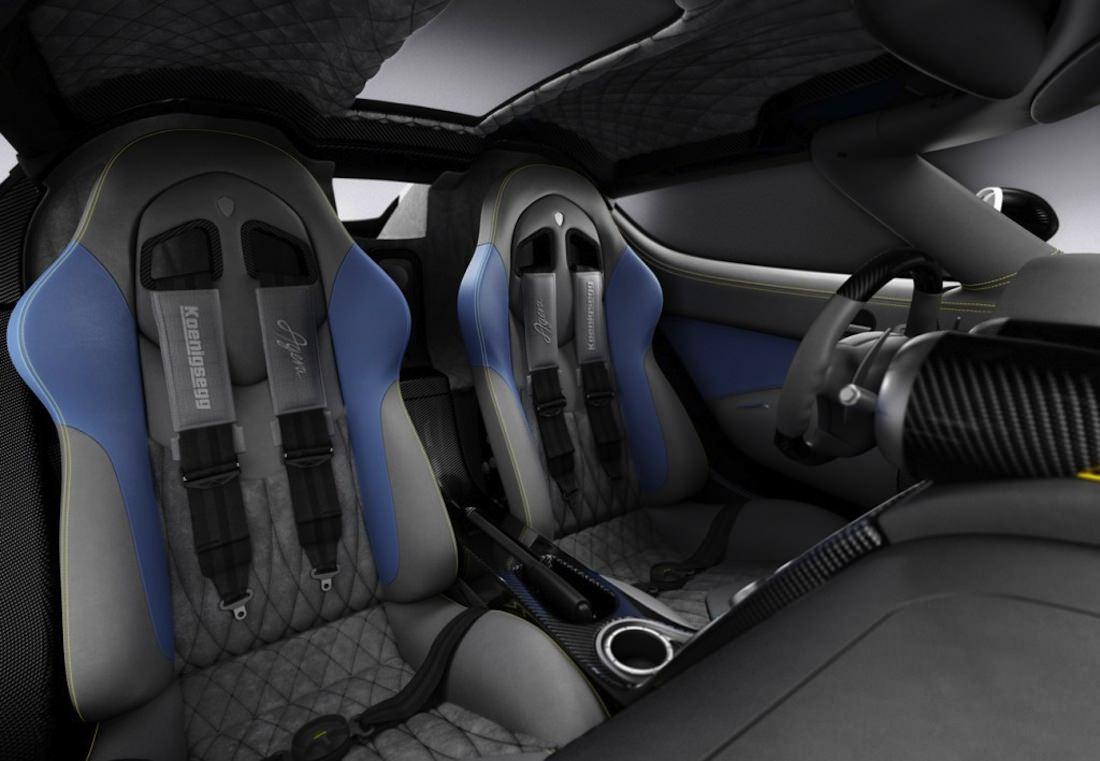 Koenigsegg Agera interieure