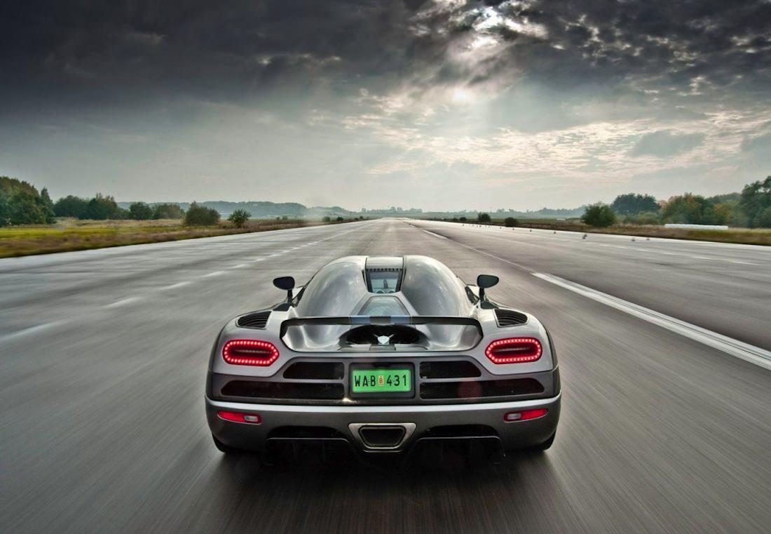 Koenigsegg Agera vue arriere