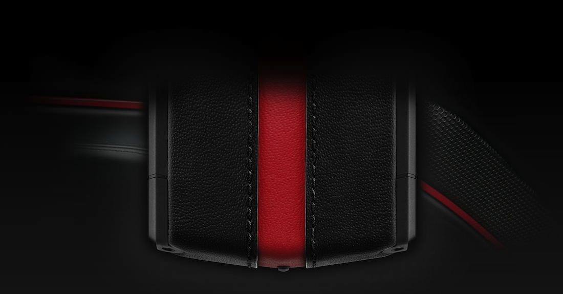 Vertu Ti Ferrari noir et rouge