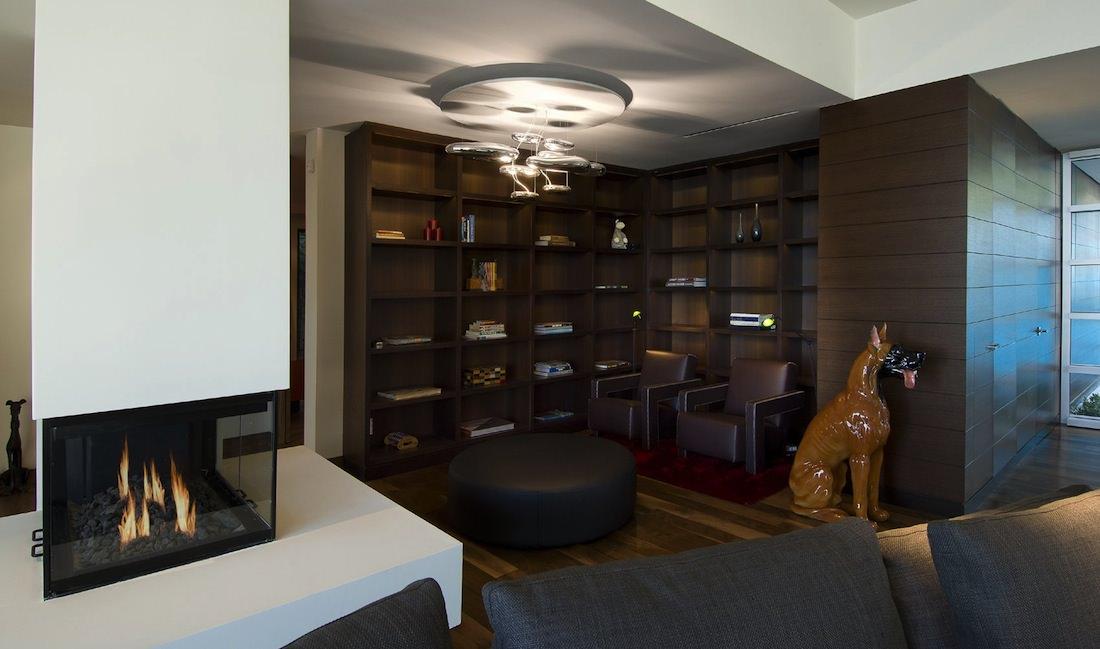 interieur salon villa