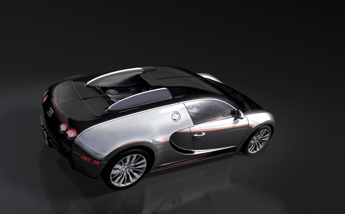 Bugatti EB 164  supercar
