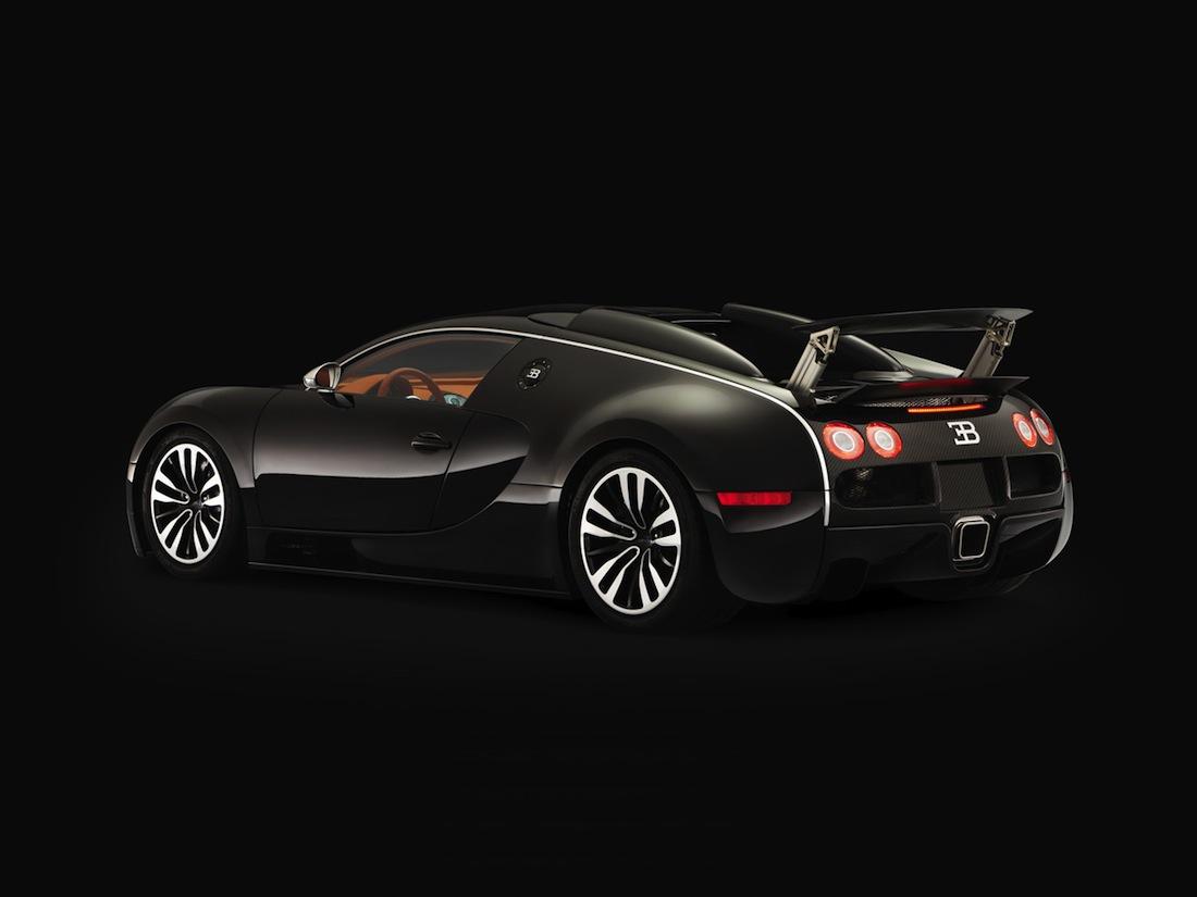 Bugatti supercar