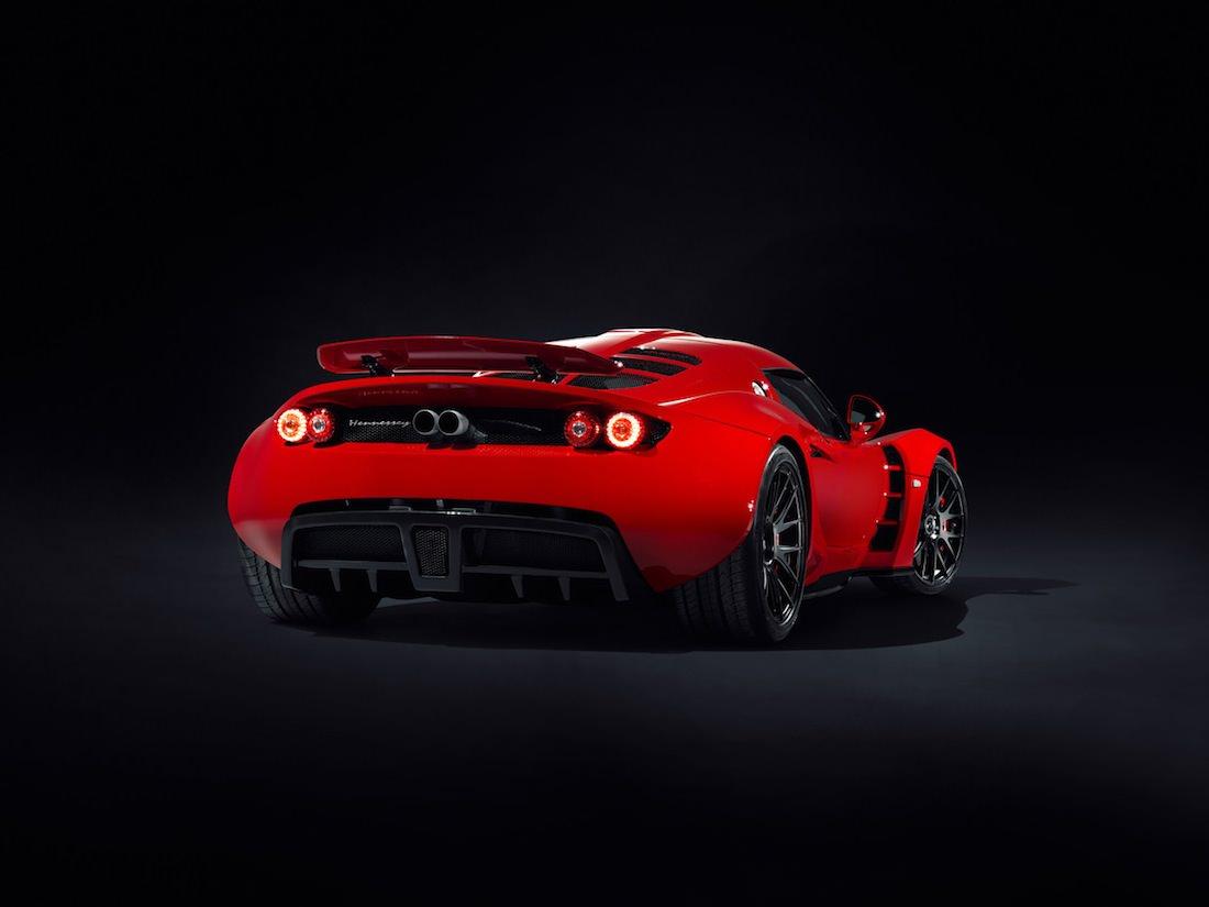 vue arrière Venom GT