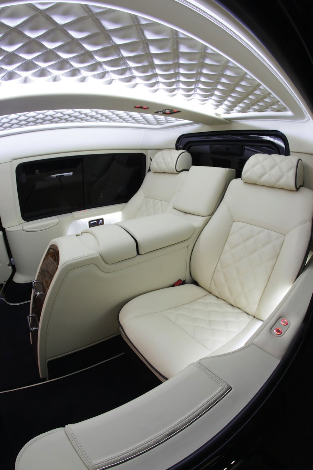 Design interieur Land Rover