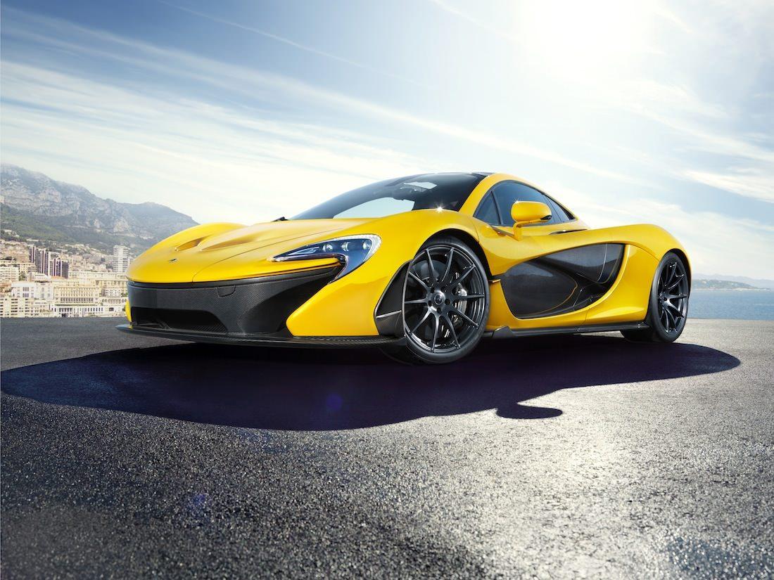 P1 jaune McLaren