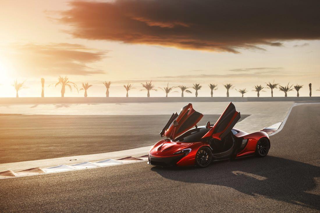 Portières McLaren P1