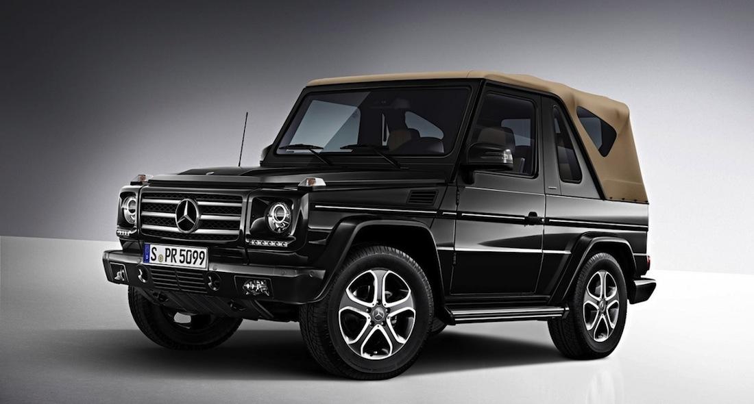 Class G cabriolet Mercedes