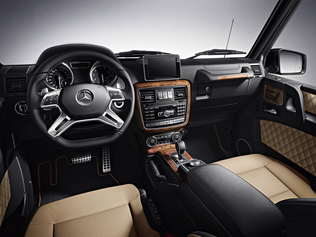 interieur Final Edition 200 Mercedes