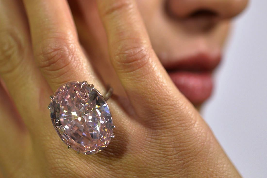 Diamond Pink Star