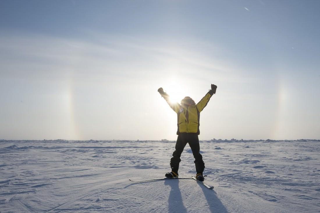 Terdav excursion north pole