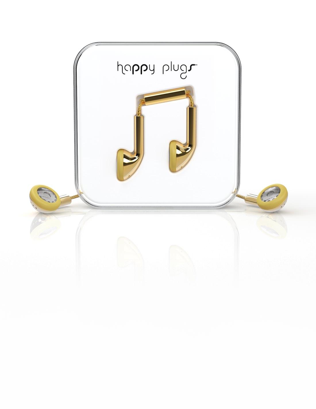 happy plugs gold