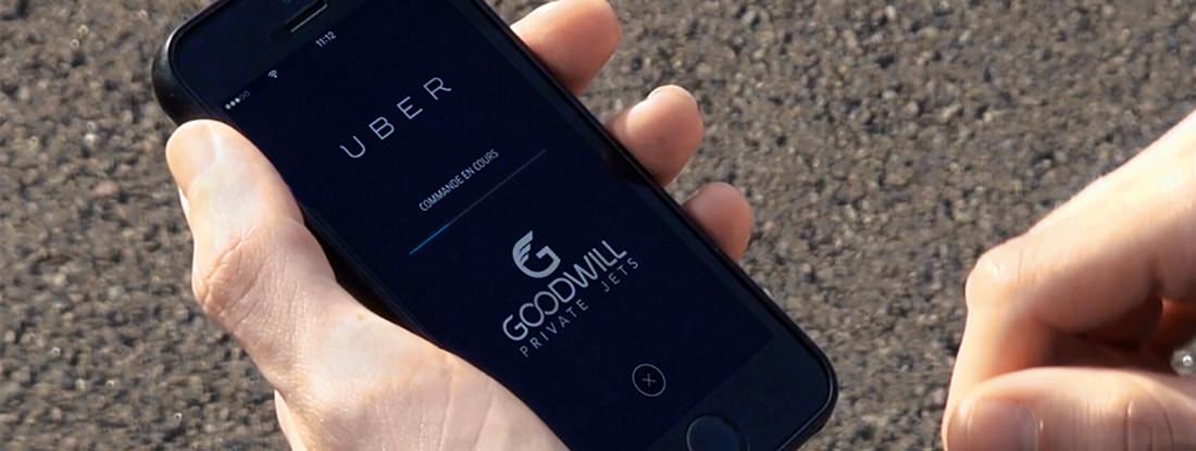 UberJet Goodwill Fly