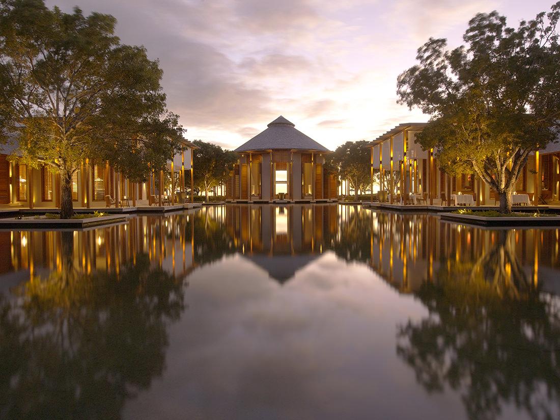 Amanyara - Main Reflecting Pond