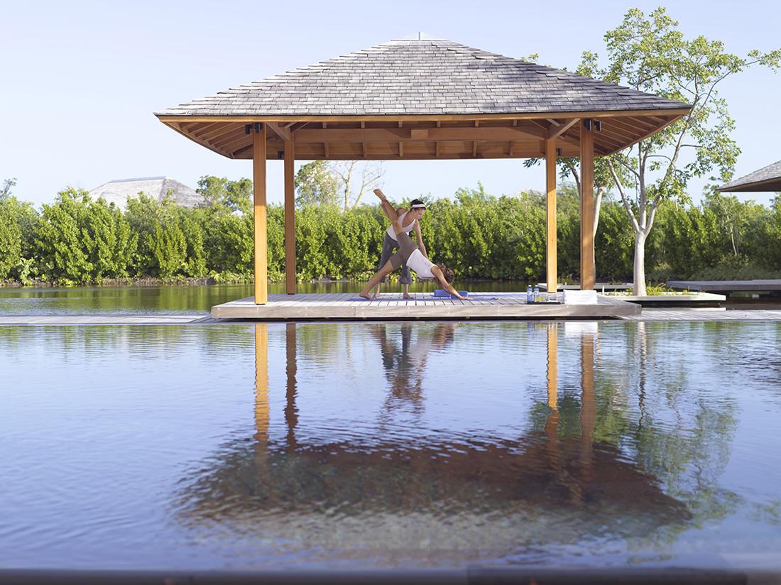 Amanyara - SV Yoga Sala 2