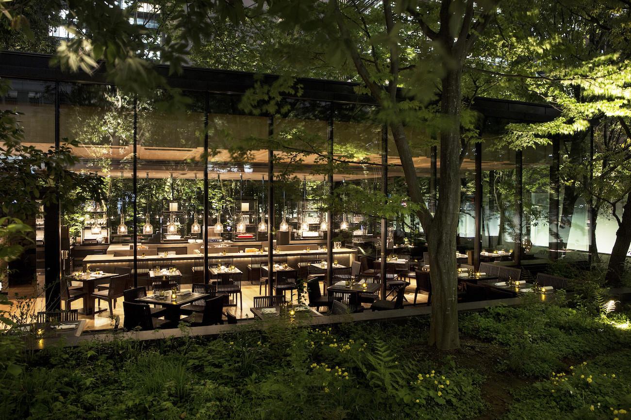 Aman Tokyo - The Cafe