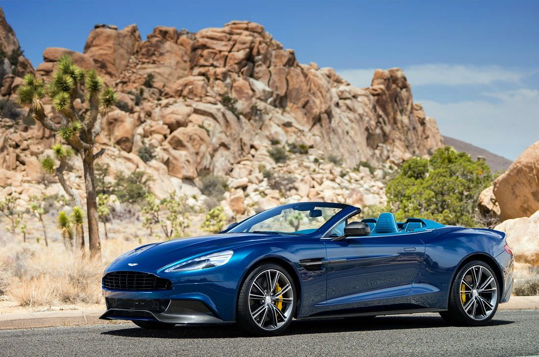 Aston Martin Vanquish Volante The Ultimate Gt Convertible The Milliardaire