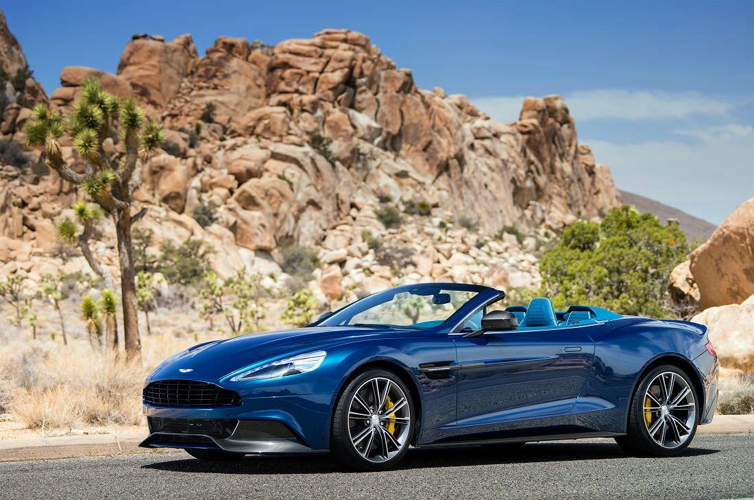 Aston Martin Vanquish Volante The Ultimate Gt Convertible The Milliardaire