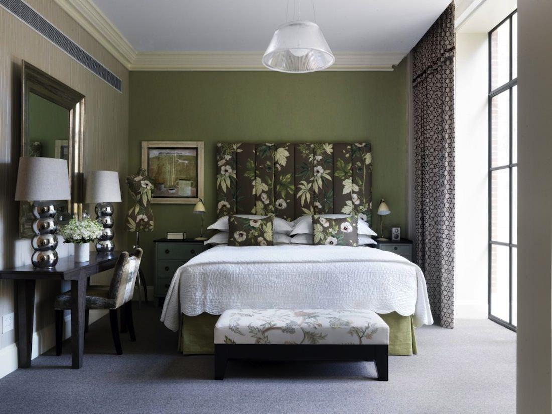 chambre verte hotel luxe - THE MILLIARDAIRE