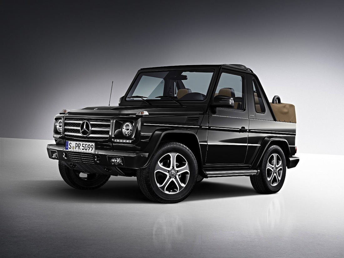 Mercedes G Class Cabriolet Final Edition 200 The Milliardaire