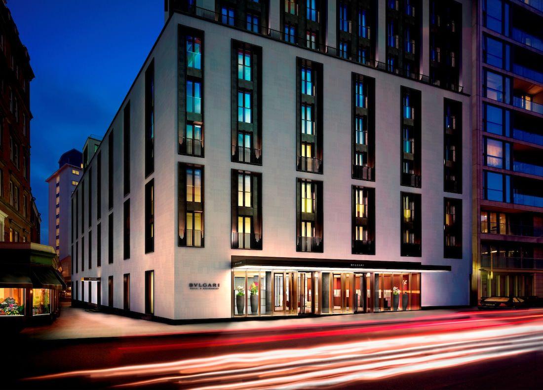 Bulgari Hotel London -outside