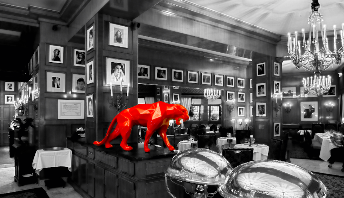 Panther red Richard-Orlinski-collection 2
