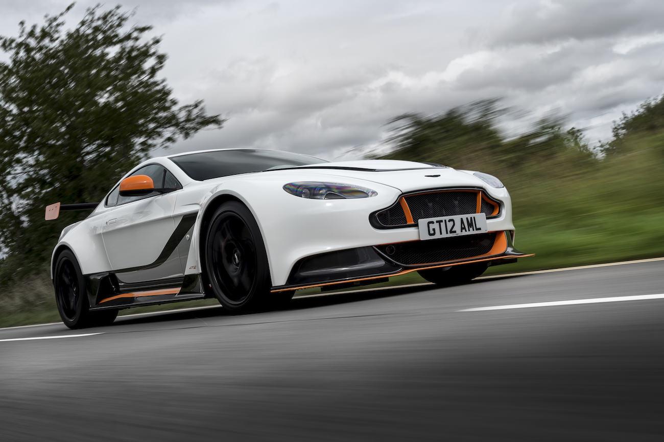 Discover The Impressive Aston Martin Vantage Gt12