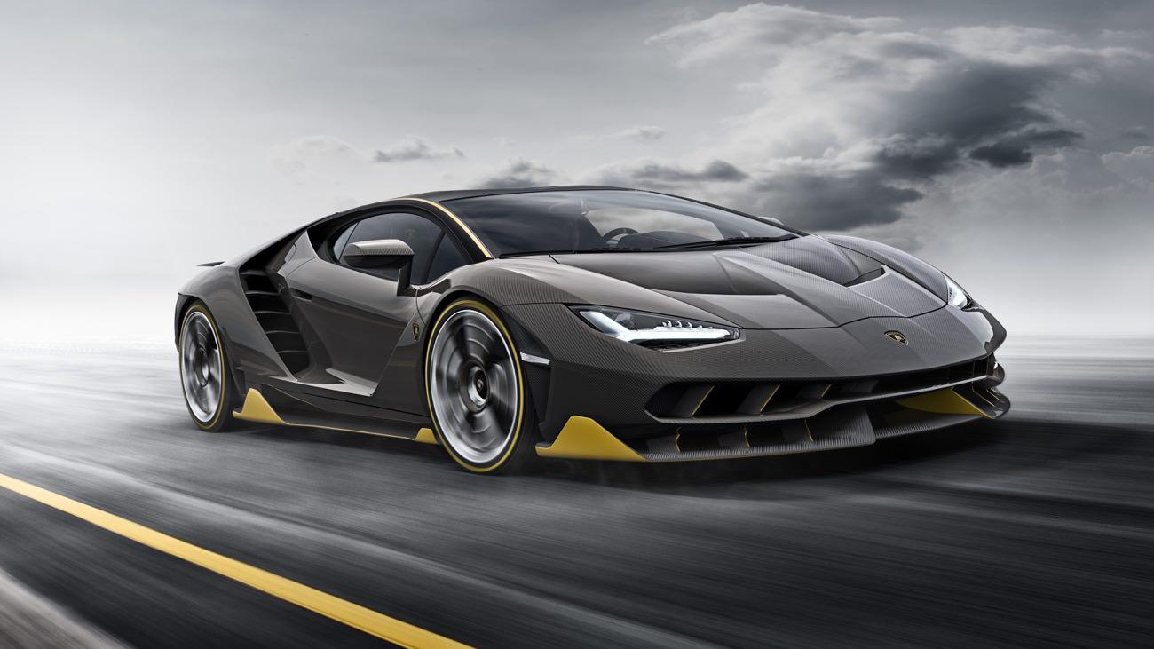 Lamborghini reveals the Lamborghini Centenario in Geneva