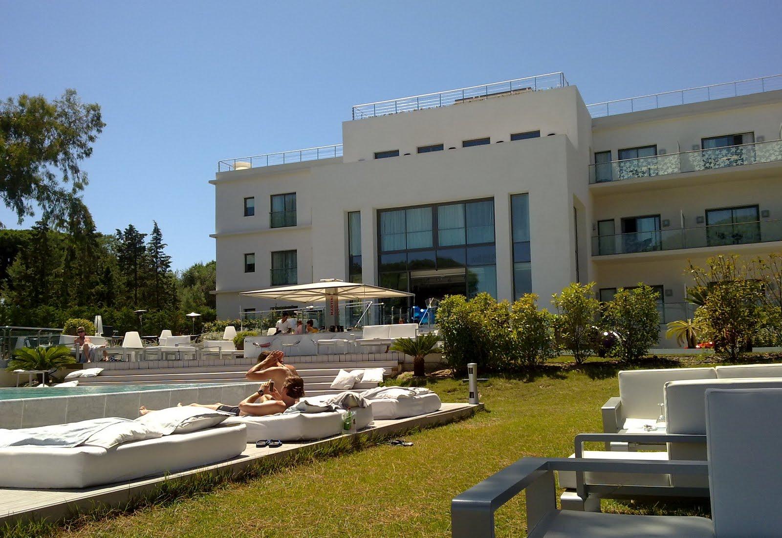 Kube Hotel Saint-Tropez - Htel toiles - Luxe Design Saint
