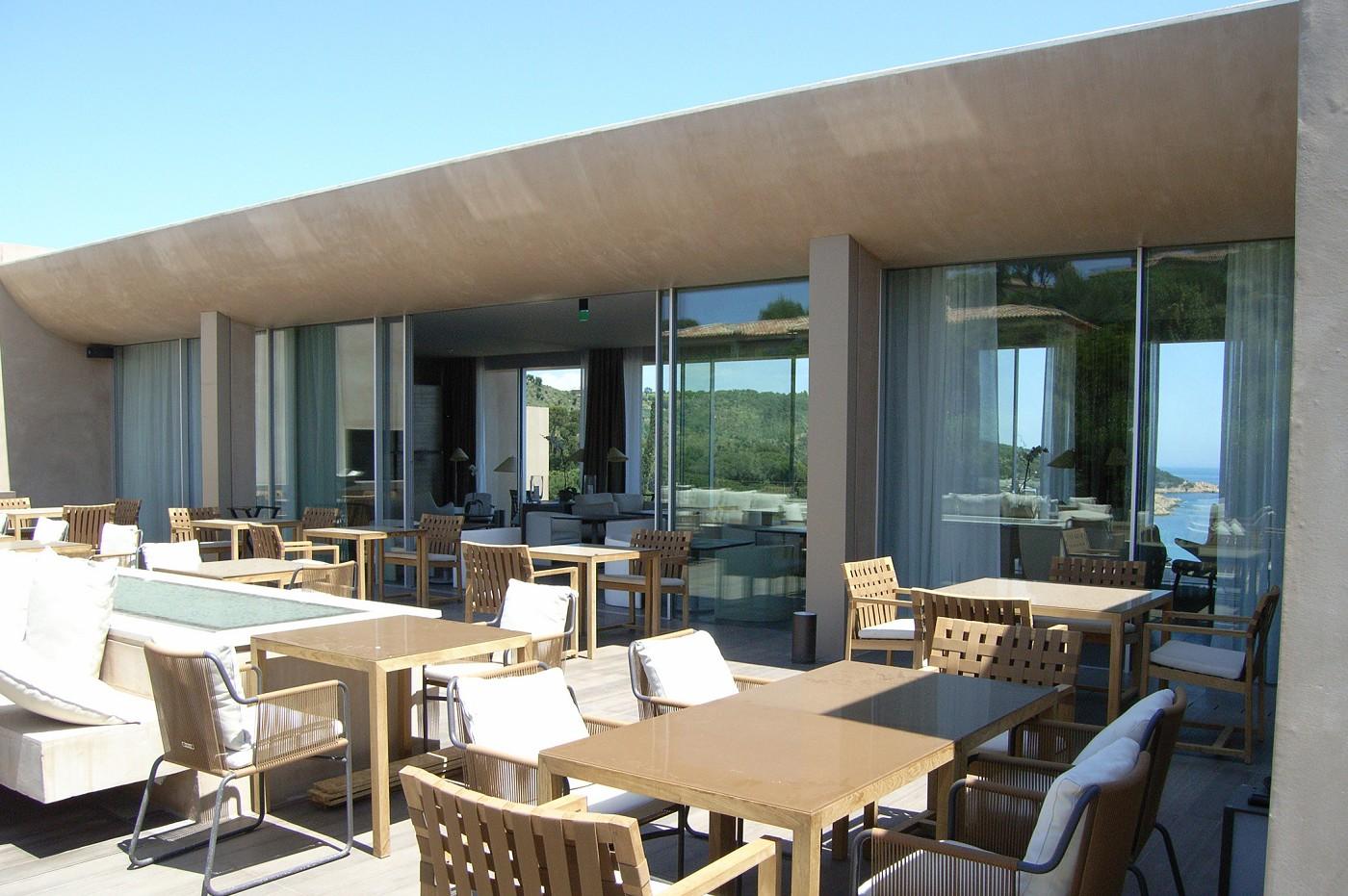 Un h tel la reserve ramatuelle saint tropez for Reserve un hotel