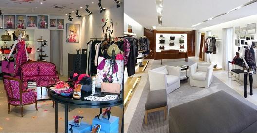 Rénovation de la boutique Louis Vuitton - Saint Tropez