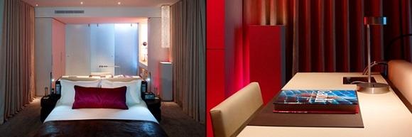 Le w un h tel de luxe barcelone for Chambre fabulous w barcelone