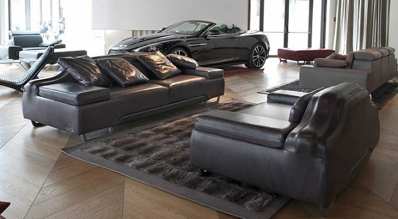 Des Meubles Design Inspires Par Aston Martin