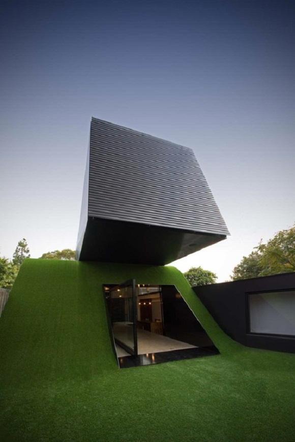 Hill house une maison d di e au jeu et au soleil - La maison wicklow hills par odos architects ...