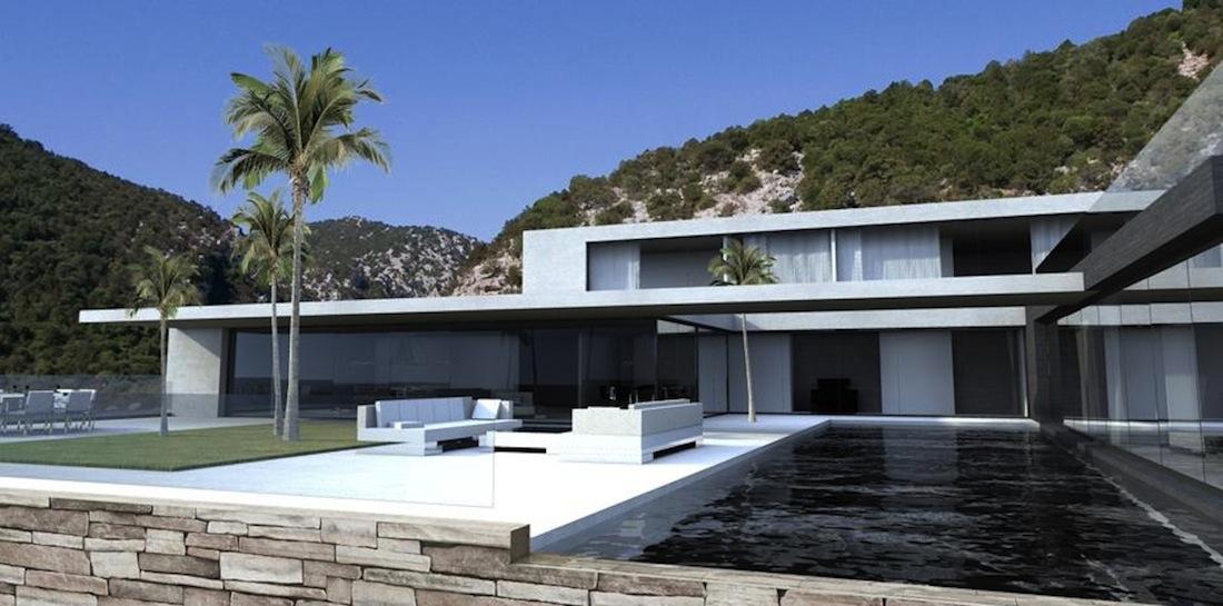 une maison en sardaigne par vielliard fasciani. Black Bedroom Furniture Sets. Home Design Ideas