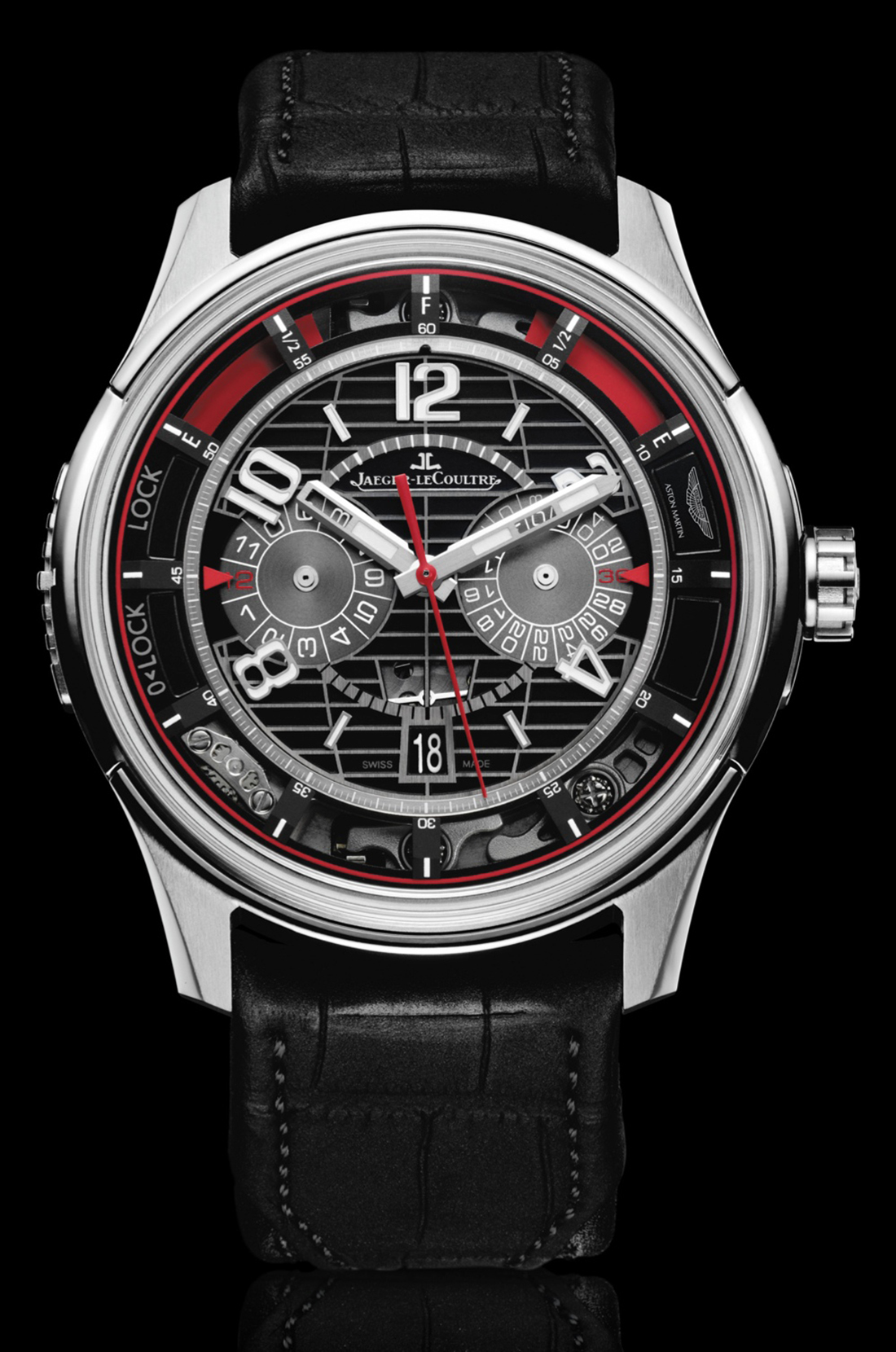 amvox7 chronographe jaeger lecoultre x aston martin. Black Bedroom Furniture Sets. Home Design Ideas
