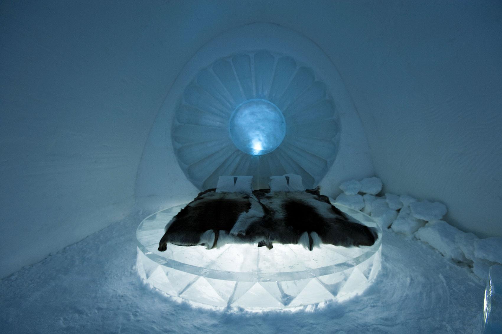ICEHOTEL® : L\'hôtel de glace de Jukkasjärvi