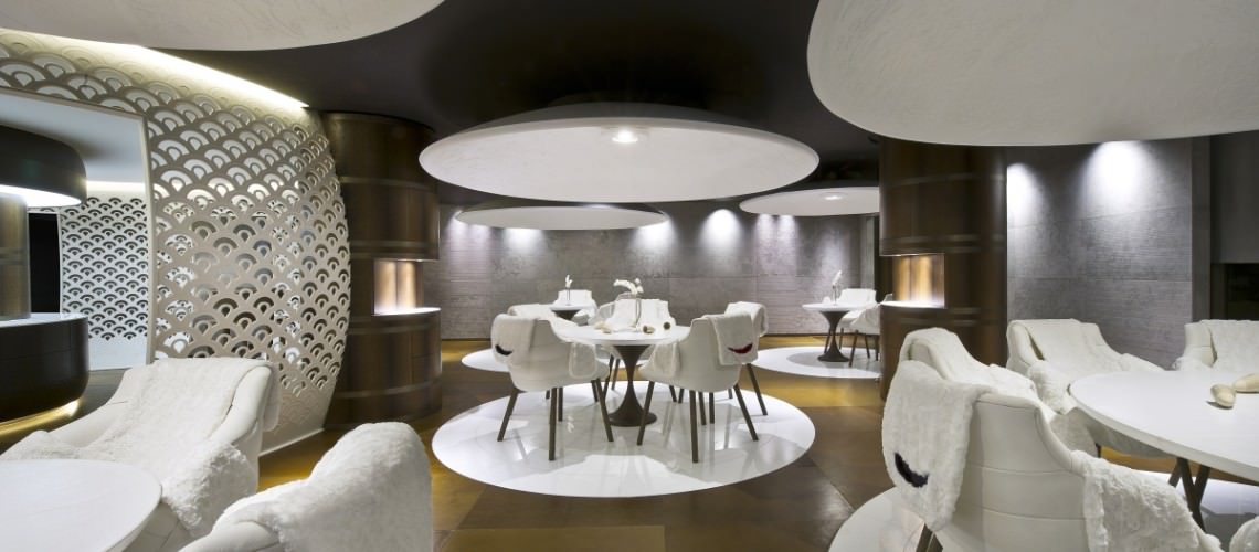Carte Restaurant Cheval Blanc Courchevel