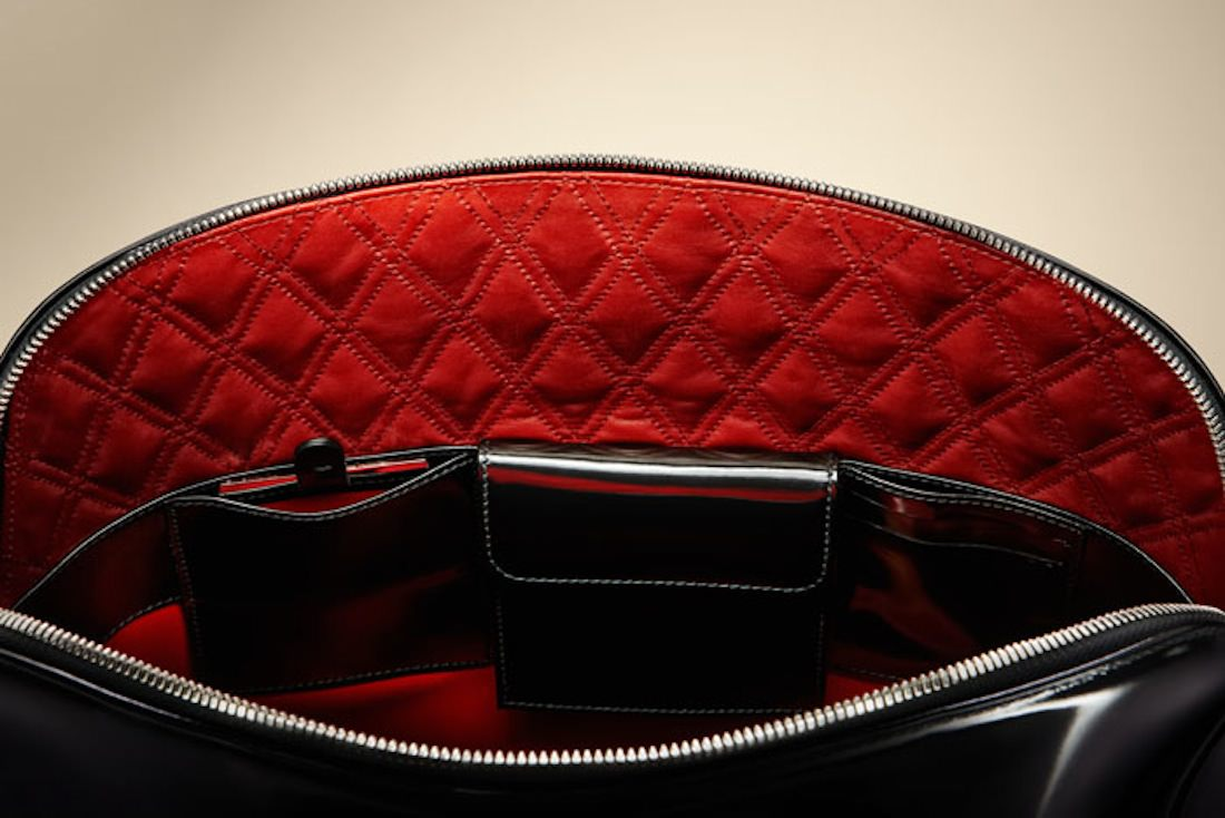 Bentley sac noir_interior