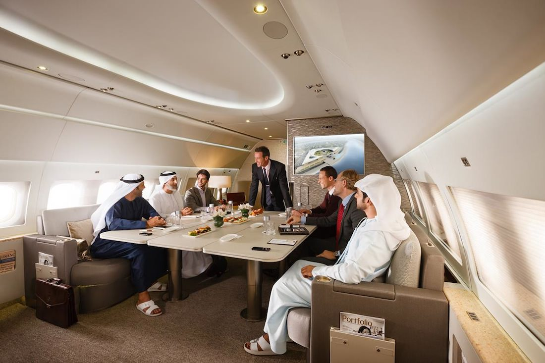 Emirates Executive meeting area