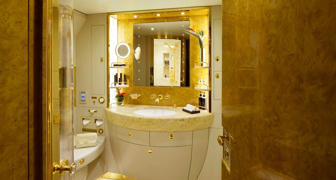 Emirates Executive salle de bain