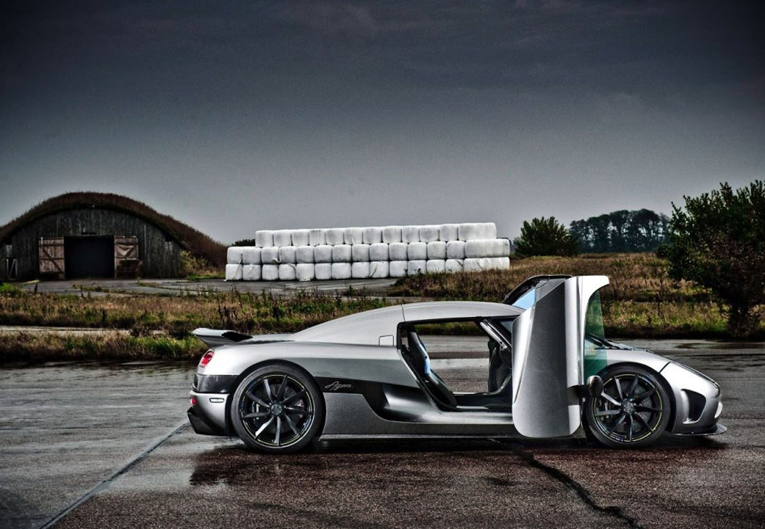 Koenigsegg Agera porte