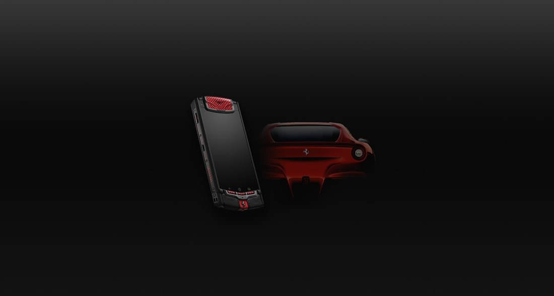 Portable Vertu Ti Ferrari