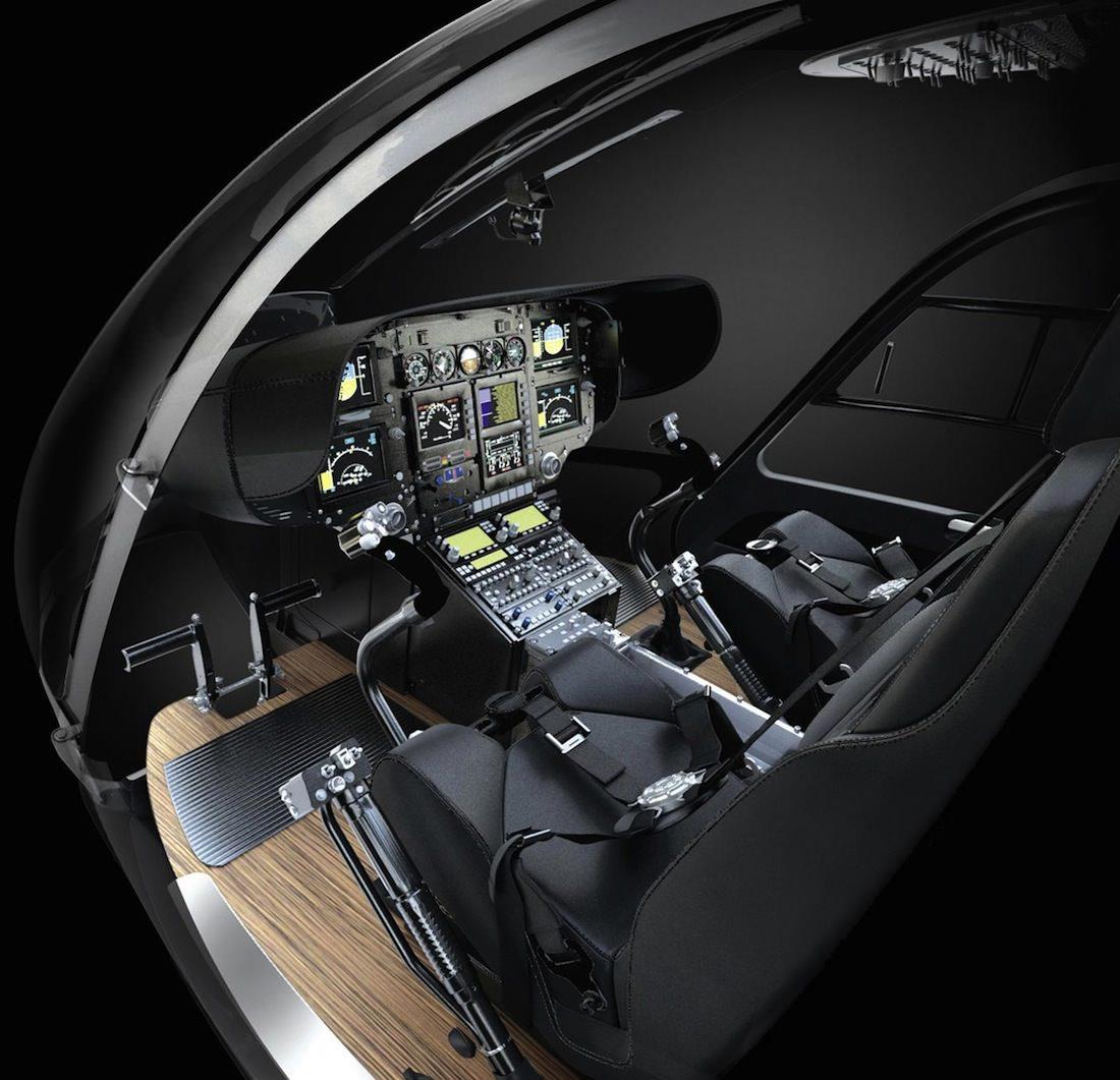 cabine pilotage EC145