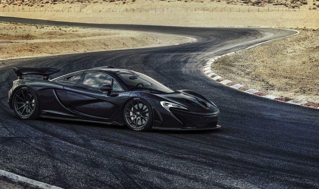 black P1 McLaren