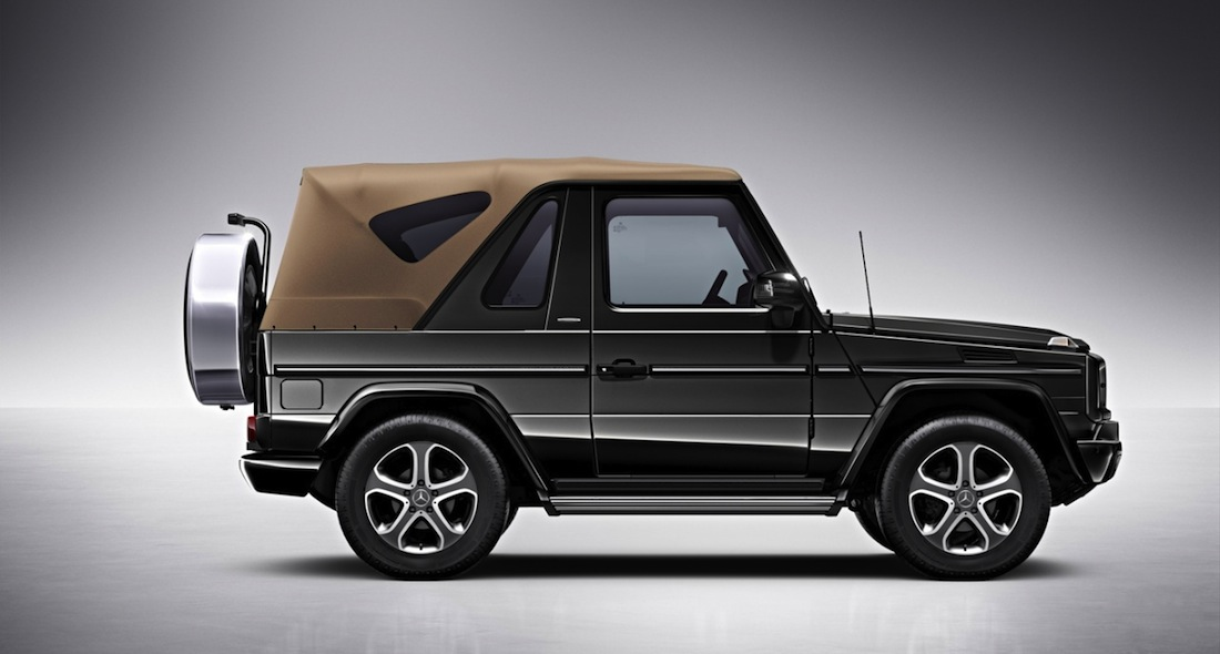le 4x4 mercedes classe g cabriolet final edition 200 pour finir en beaut. Black Bedroom Furniture Sets. Home Design Ideas