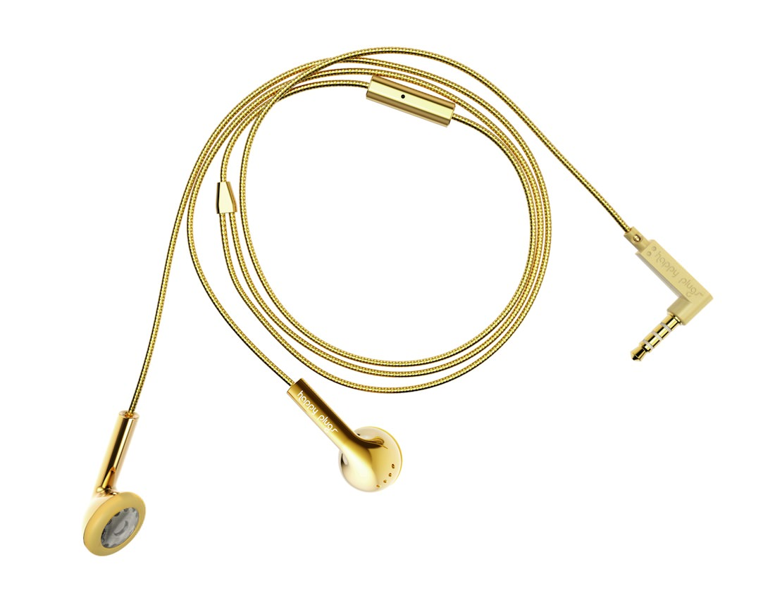 Happy_Plugs_Gold design