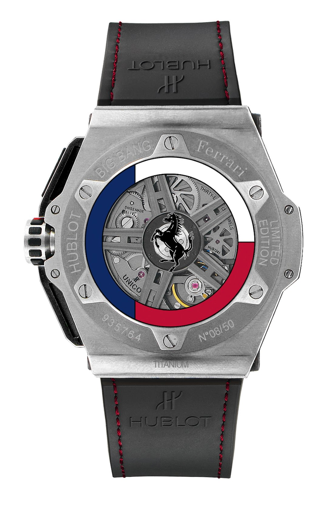 la montre big bang ferrari texas by hublot inspir e de la scuderia ferrari. Black Bedroom Furniture Sets. Home Design Ideas