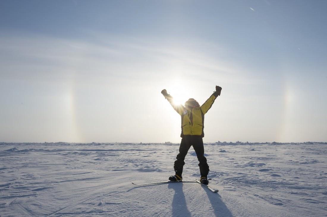Terdav excursion pole nord