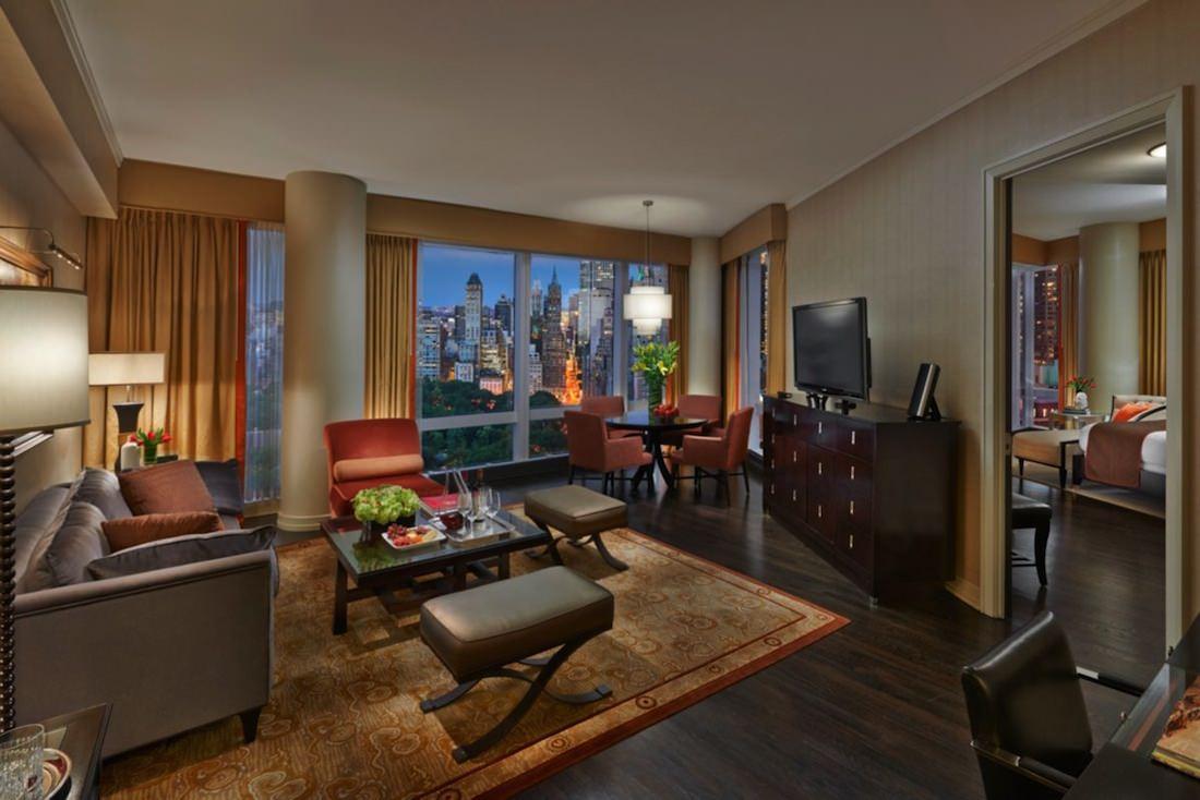 chambre vue central-park- hotel